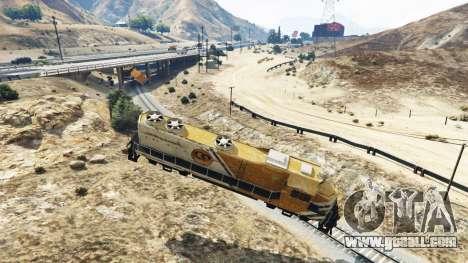 GTA 5 Engineer railroad v2.5 third screenshot