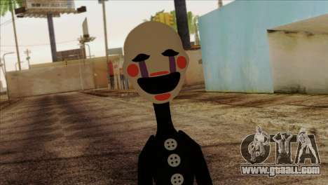 Puppet from Five Nights at Freddy 2 for GTA San Andreas third screenshot