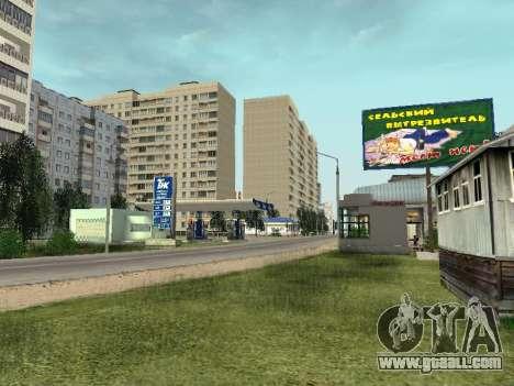 Prostokvashino for GTA Criminal Russia beta 2 for GTA San Andreas third screenshot