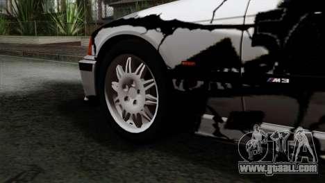 BMW M3 E36 Drift Editon for GTA San Andreas back left view