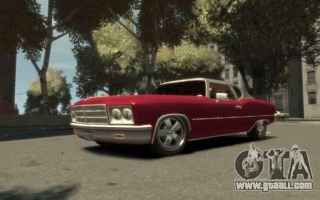 GTA 3 Yardie Lobo HD for GTA 4
