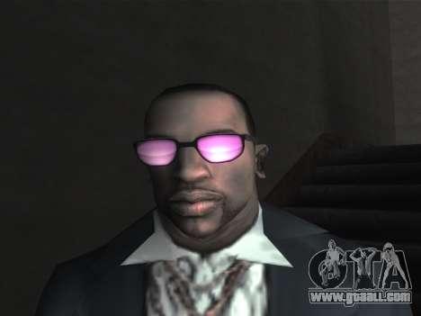 New glasses for CJ for GTA San Andreas tenth screenshot