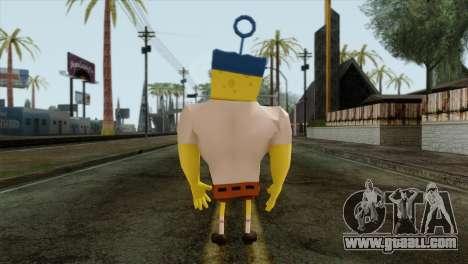 Spongebob as Mr.Invincibubble for GTA San Andreas second screenshot