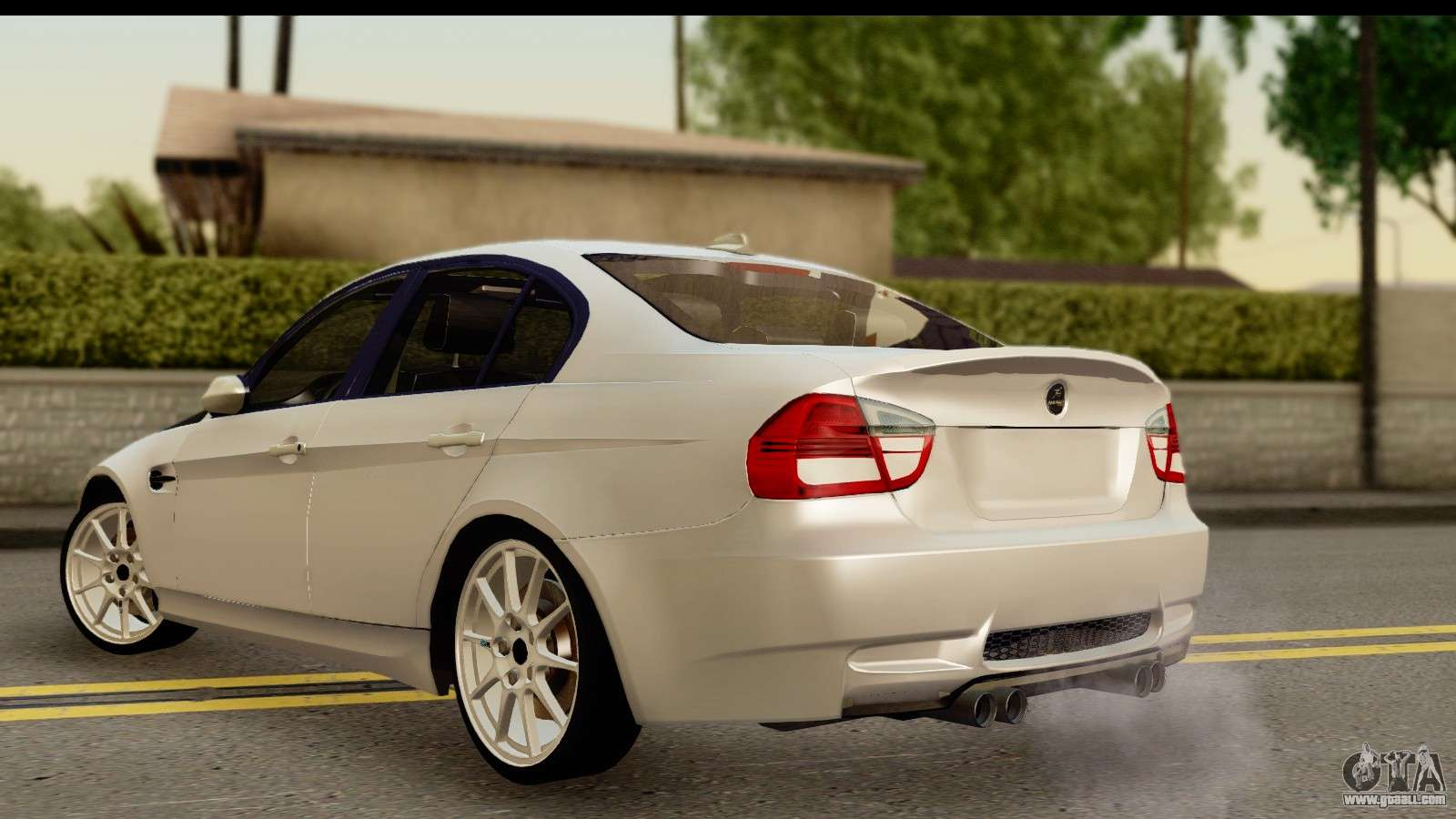 bmw m3 e90 hamann for gta san andreas. Black Bedroom Furniture Sets. Home Design Ideas