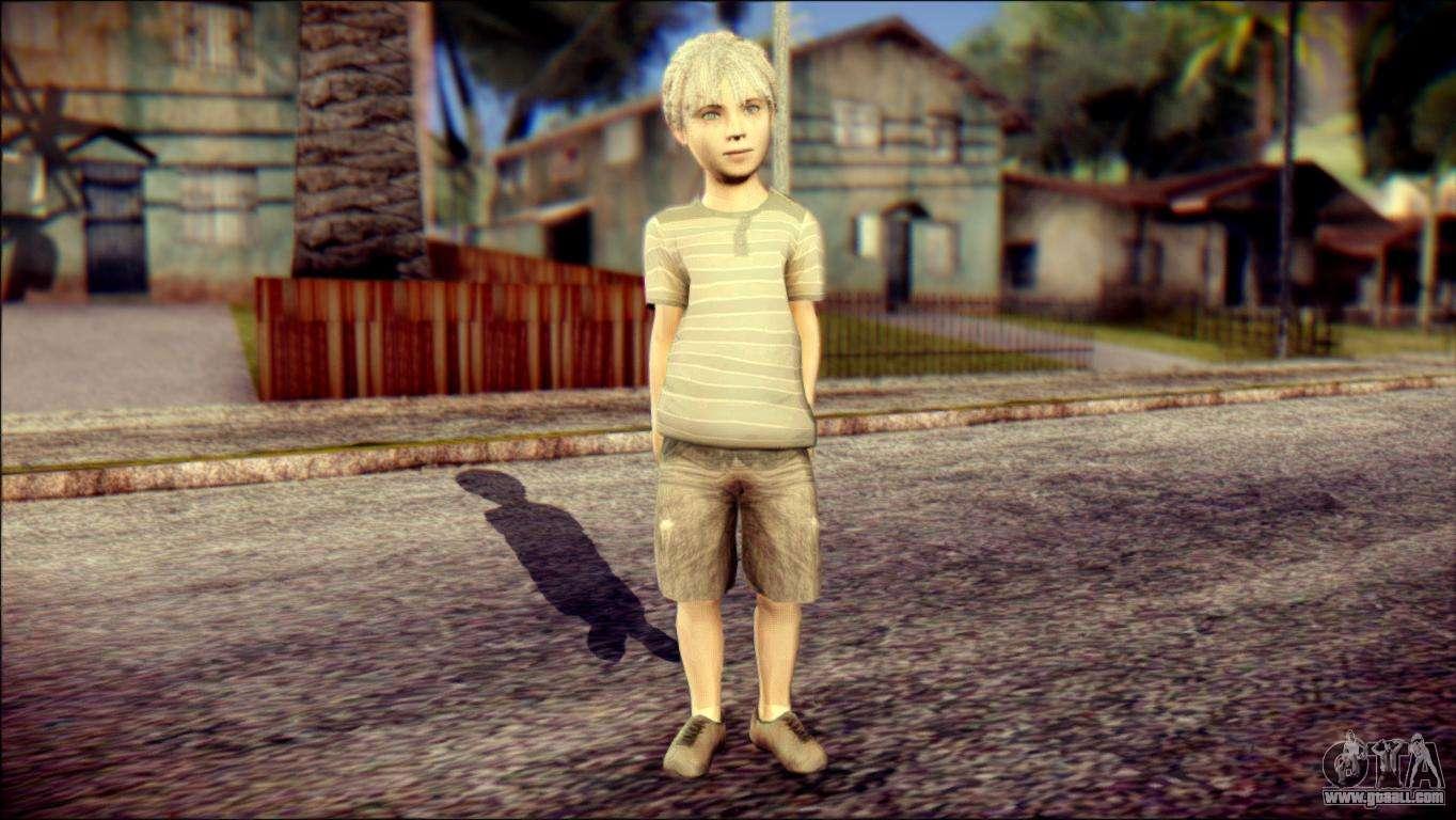 Dante Child Skin for GTA San Andreas