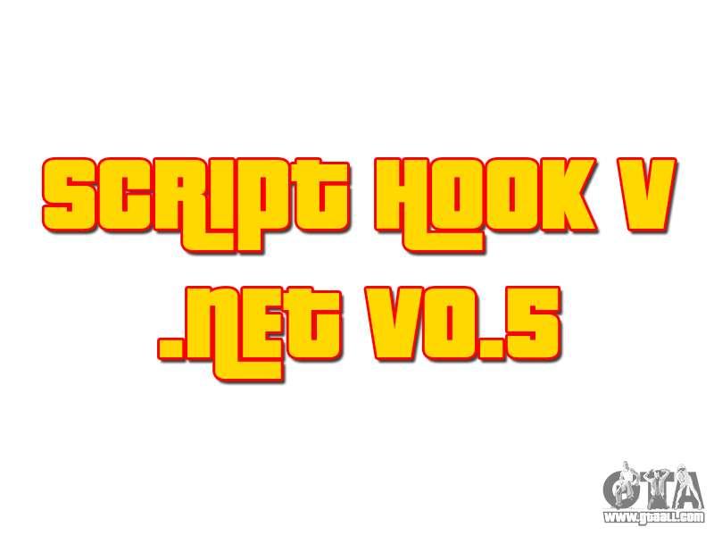 Script Hook V  NET v0 5 for GTA 5