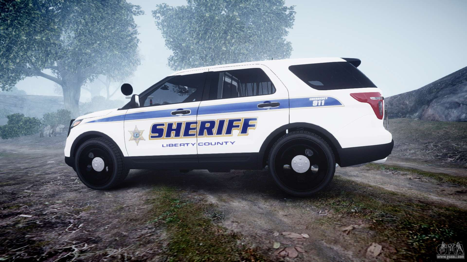 ford explorer police interceptor els slicktop for gta 4 left view. Cars Review. Best American Auto & Cars Review