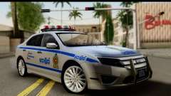 Ford Fusion 2011 Sri Lanka Police for GTA San Andreas