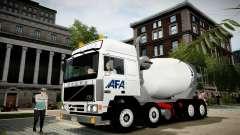 Volvo F10 cement truck for GTA 4