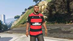 Flamengo T-Shirt - Camisa do Flamengo de 2000-01 for GTA 5