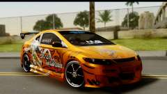 Honda Civic SI Juiced Tuned Shinon Itasha for GTA San Andreas