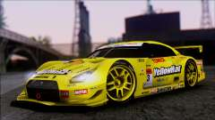 Nissan GTR R35 JGTC Yellowhat Tomica 2008 for GTA San Andreas