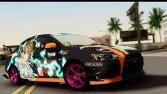 Mitsubishi Lancer Evolution X 2014 Itasha for GTA San Andreas