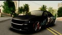 Dodge Charger RT 2015 Sword Art for GTA San Andreas