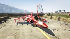 Hydra red camouflage for GTA 5