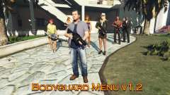 Bodyguard Menu v1.5 for GTA 5