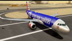 Airbus A320-200 AirAsia Queens Park Rangers for GTA San Andreas