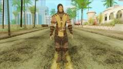 Mortal Kombat X Scoprion Skin for GTA San Andreas