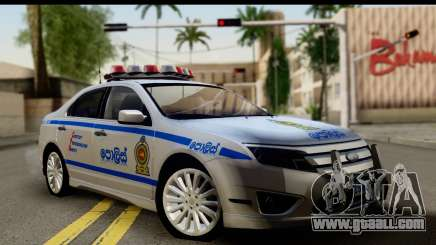 Ford Fusion 2011 Sri Lanka Police for GTA San Andreas