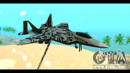 F-22 Raptor Starscream for GTA San Andreas