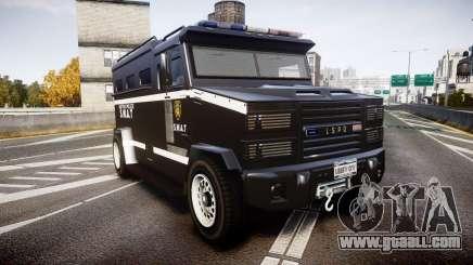 GTA V Brute Police Riot [ELS] skin 5 for GTA 4
