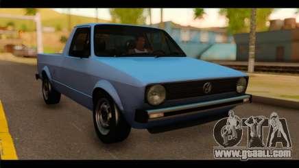 Volkswagen Caddy Mk1 Stock for GTA San Andreas