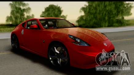 Nissan 370Z Nismo 2010 for GTA San Andreas