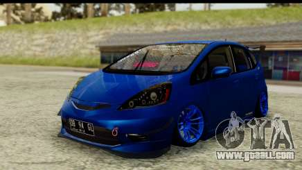 Honda Fit 2009 JDM Modification for GTA San Andreas