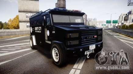 GTA V Brute Police Riot [ELS] skin 2 for GTA 4