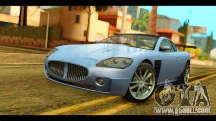 GTA 5 Ocelot F620 IVF for GTA San Andreas