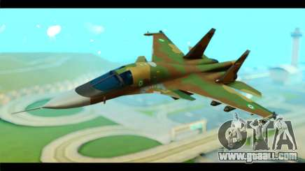 Sukhoi SU-34 IRIAF for GTA San Andreas