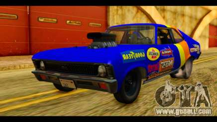 Chevy Nova NOS DRAG for GTA San Andreas