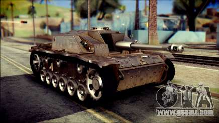 StuG III Ausf. G for GTA San Andreas
