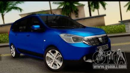 Dacia Lodgy 2014 for GTA San Andreas