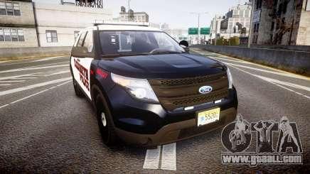 Ford Explorer 2011 Elizabeth Police [ELS] v2 for GTA 4
