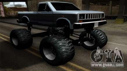 Monster Bobcat for GTA San Andreas