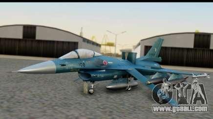 F-2A Viper Blue for GTA San Andreas