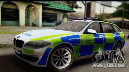 BMW 530d Kent Police RPU for GTA San Andreas