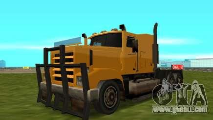 PS2 RoadTrain for GTA San Andreas