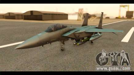 McDonnell Douglas F-15E Strike Eagle for GTA San Andreas