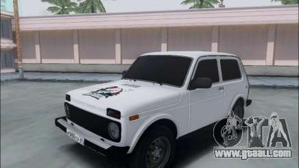 Lada Niva for GTA San Andreas