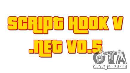 Script Hook V .NET v0.5 for GTA 5