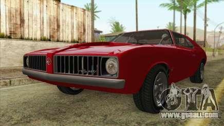 GTA 5 Declasse Stallion for GTA San Andreas