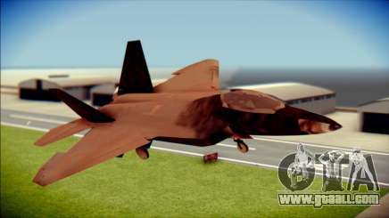 F-22 Raptor G1 Starscream for GTA San Andreas