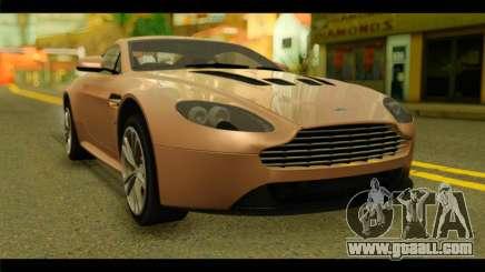 Aston Martin V12 Vantage for GTA San Andreas