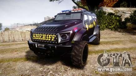 GTA V HVY Insurgent Pick-Up SWAT [ELS] for GTA 4