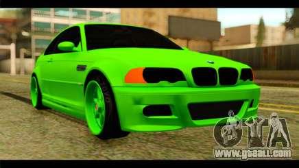 BMW M3 E46 Stock for GTA San Andreas