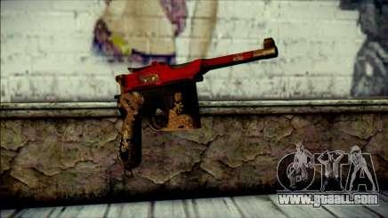 Mauser M1896 Royal Dragon CF for GTA San Andreas