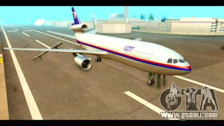 DC-10-30 PLL LOT for GTA San Andreas
