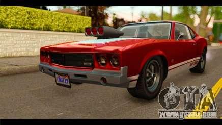 GTA 5 Declasse Sabre GT Turbo for GTA San Andreas